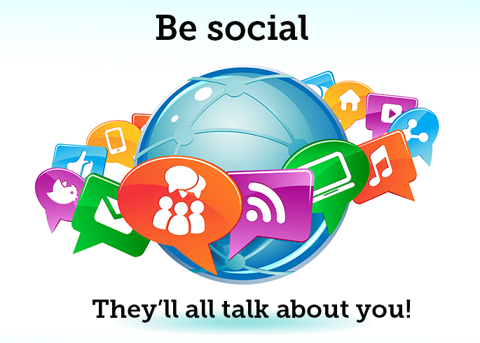 be-social