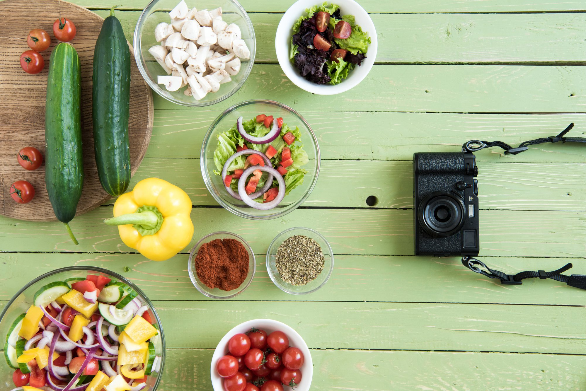 Food photography - Five Tips to Get The Best Snaps