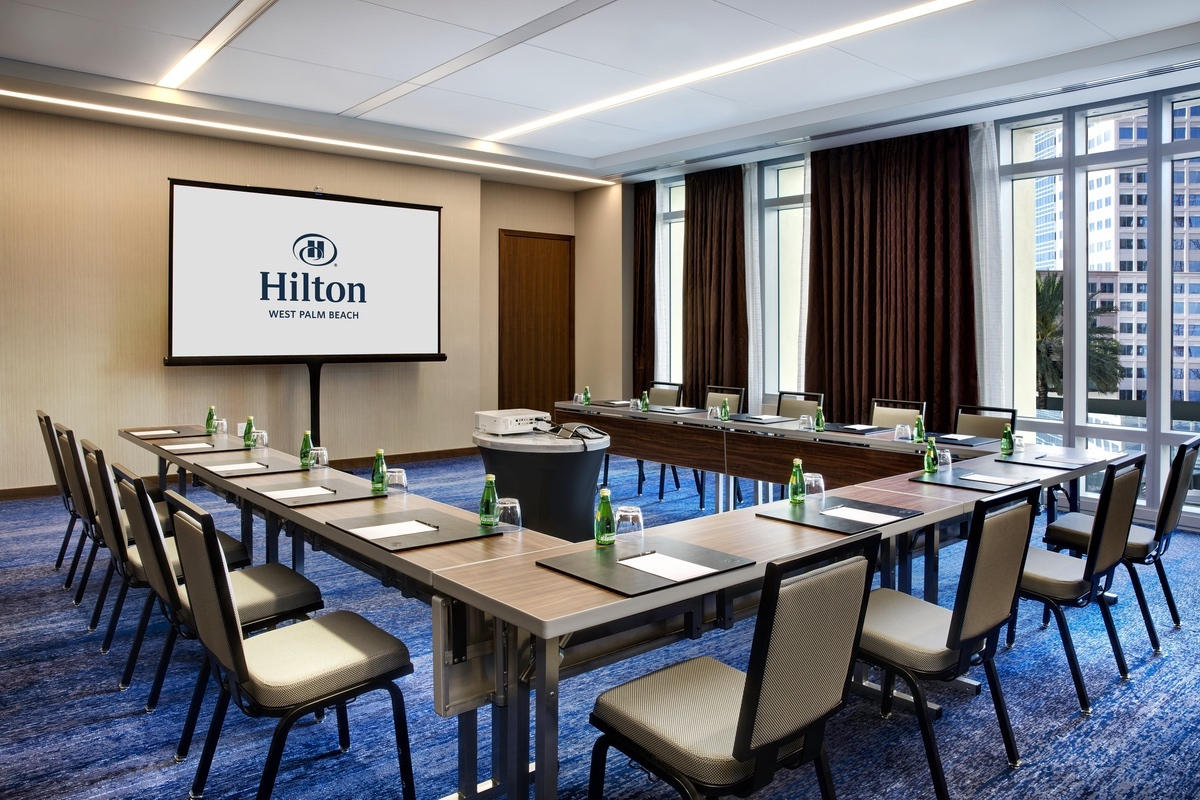 Hilton-2021-Hilton West Palm Beach_Lilly Meeting Room