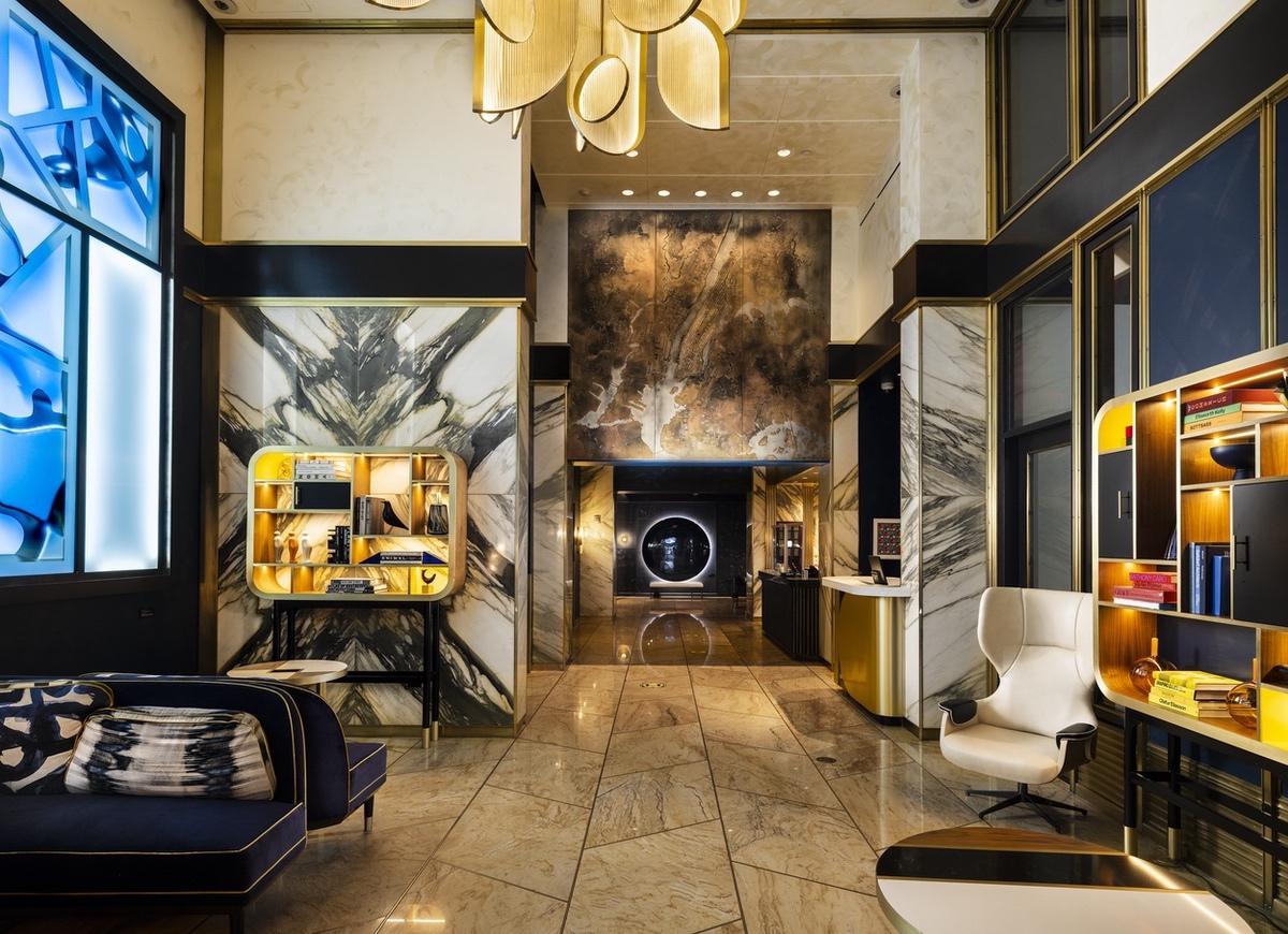 Marriott-2021-NYC lobby