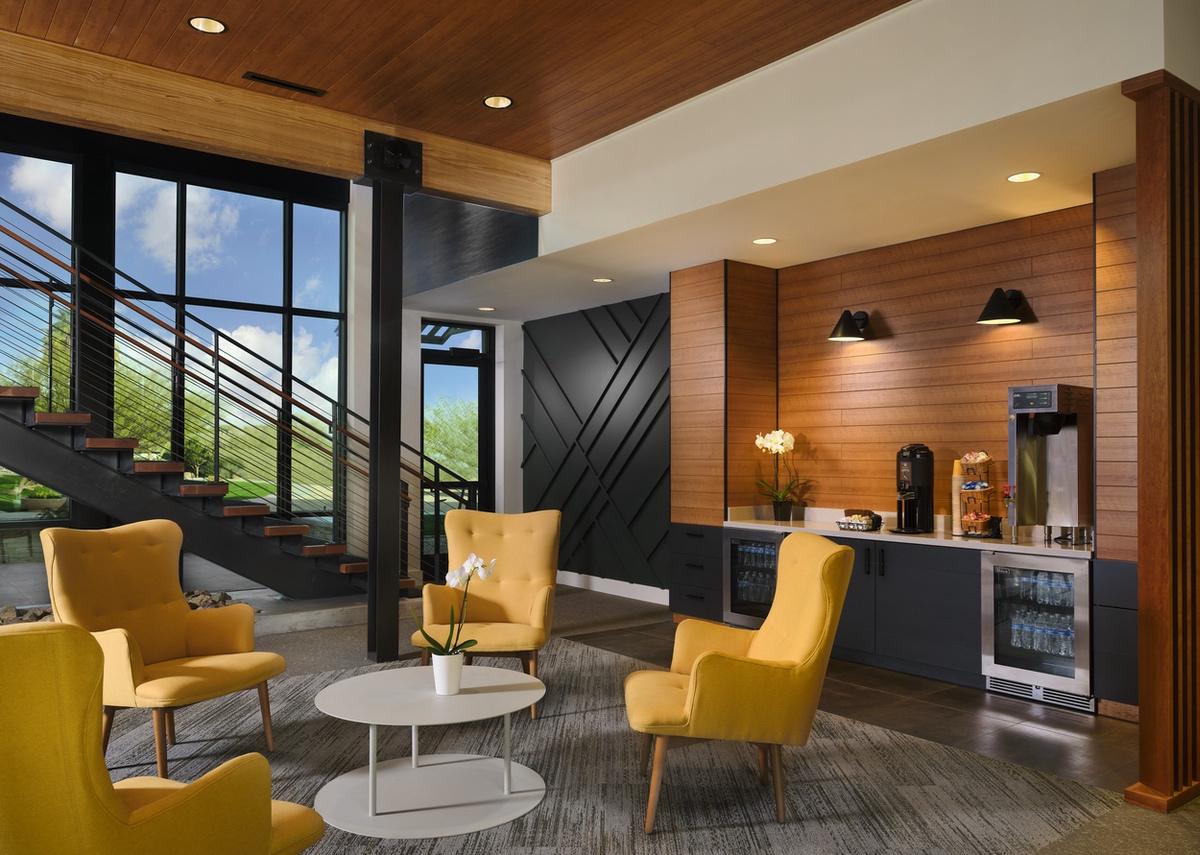 Vistana-2021-Canyon Villas sales office refreshment area
