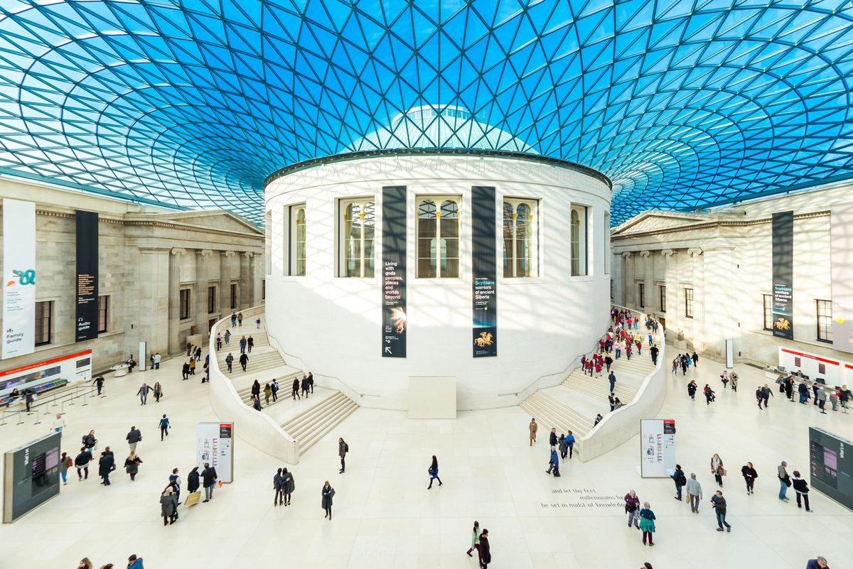 The Great Court of The British Museum, London, UK